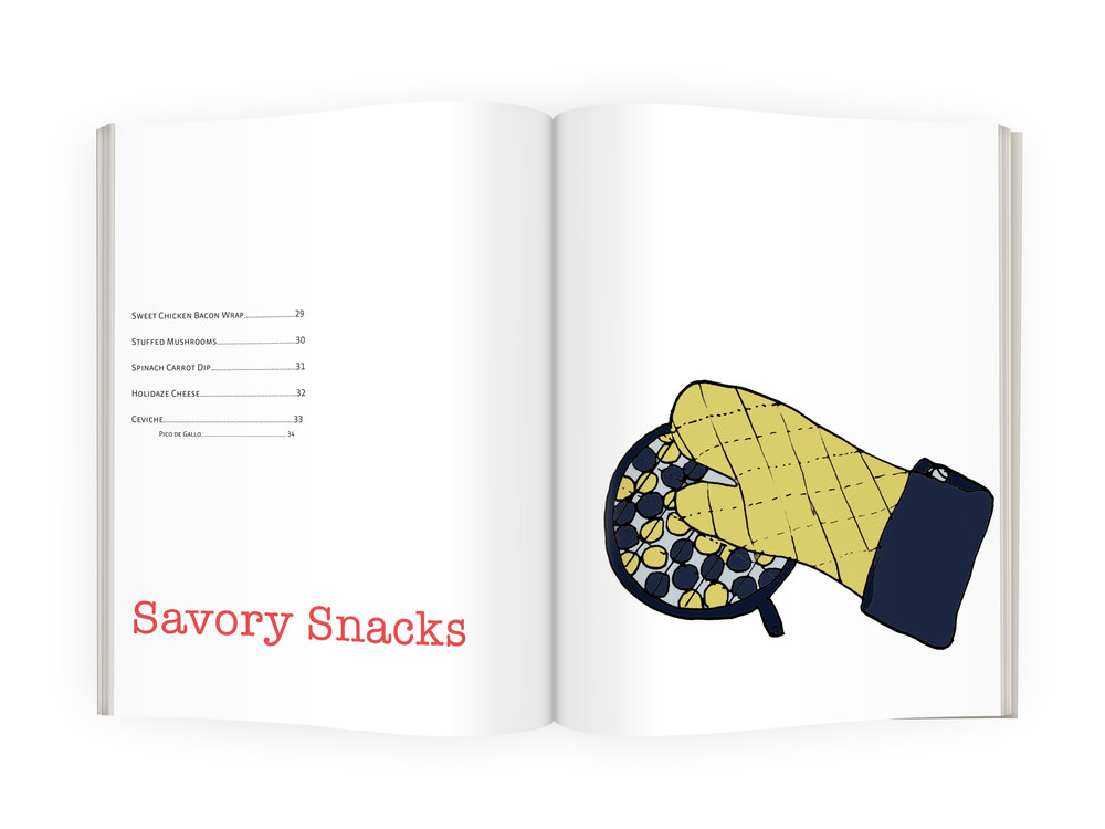 Table of Contents for Savory Snacks