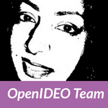 Figure E: Profile picture for a member of the OpenIDEO team.