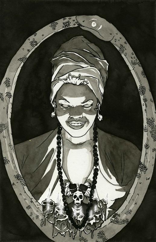 Voodoo Marie Laveau