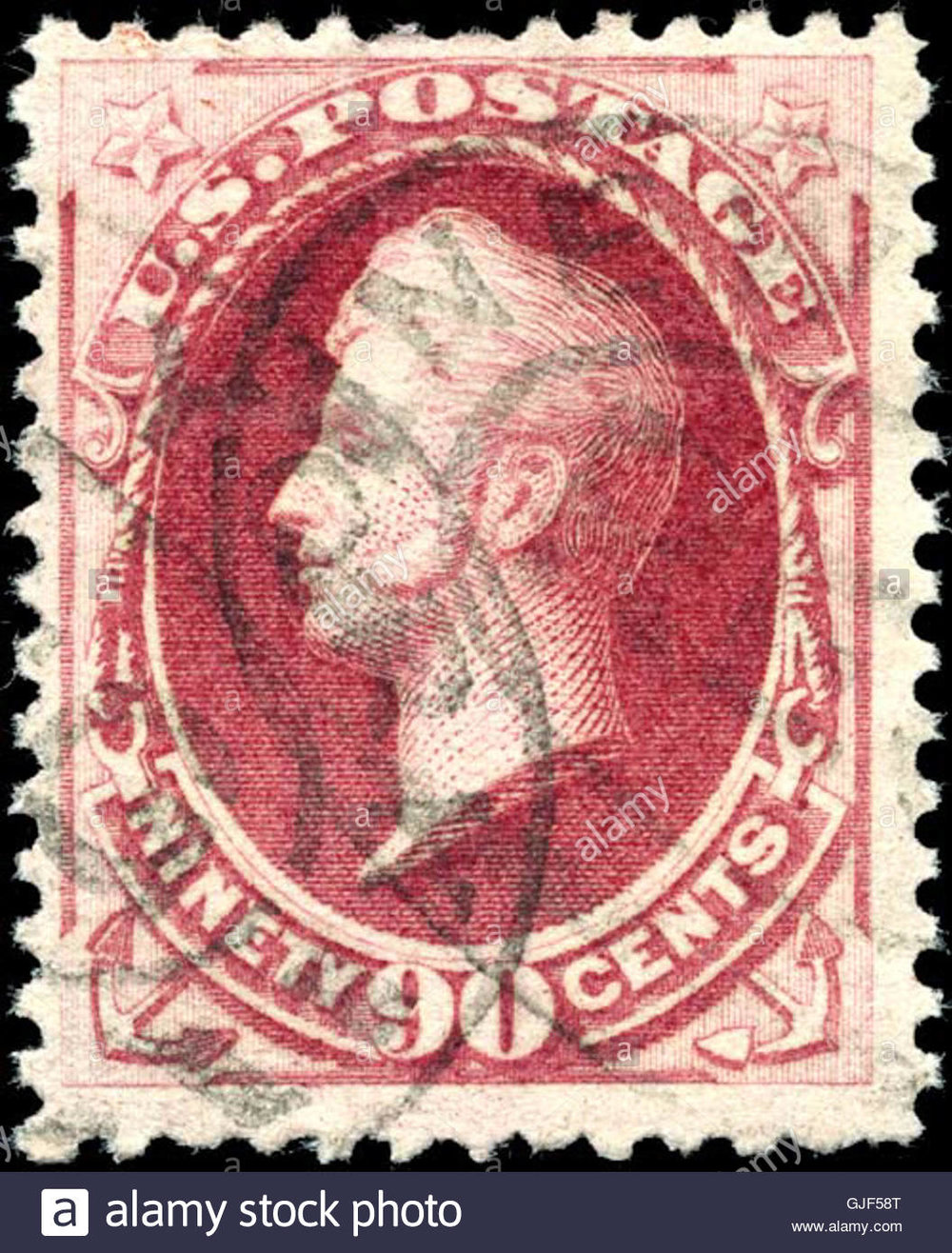 stamp-us-1879-90c-perry-GJF58T.jpg