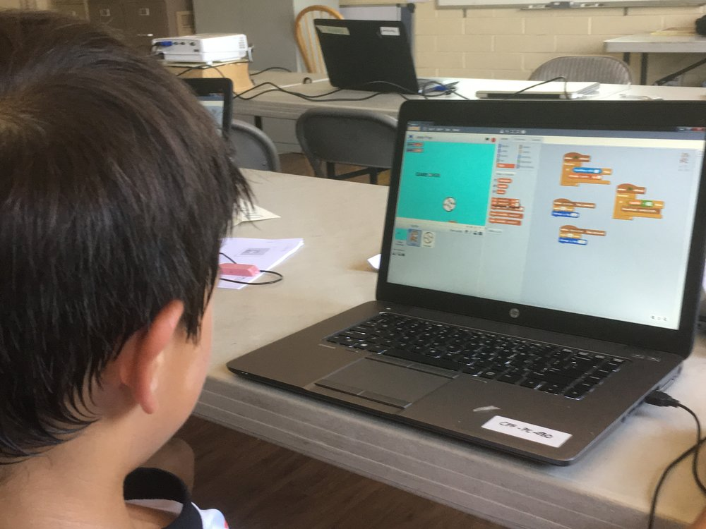 Make a movie, a game or a song - with Scratch