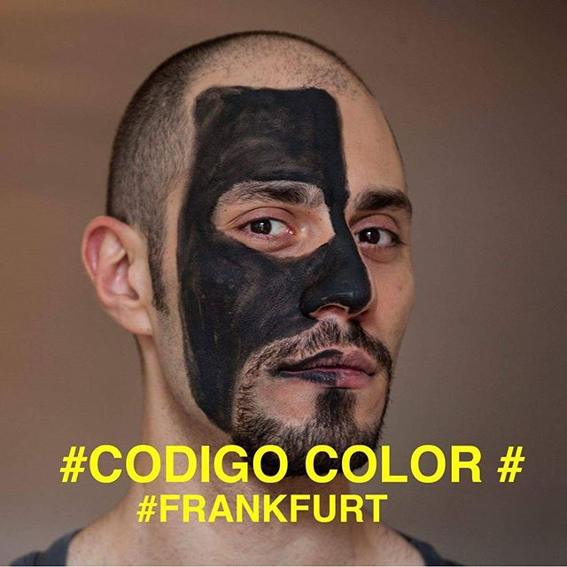 What is the color of your history? What is the code of your identity? Foto: #anahithayrapetyan #CodigoColor #Frankfurt #race #color #BlackAndWhite #documentary #cinema #art #light #racism