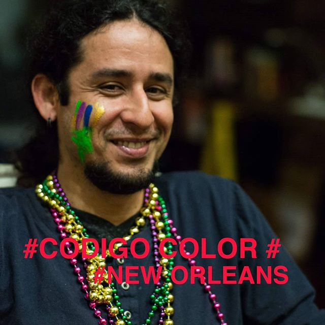 What is the color of your history? What is the code of your identity? #CodigoColor #NewOrleans #race #color #BlackAndWhite #documentary #cinema #art #light #racism
