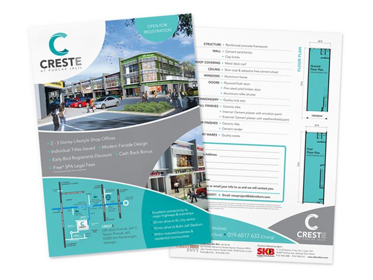 Creste  Property Brochure  Wanderloft Sdn Bhd