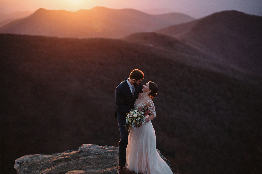 Craggy Gardens Elopement - Jameykay and Arlie Photography