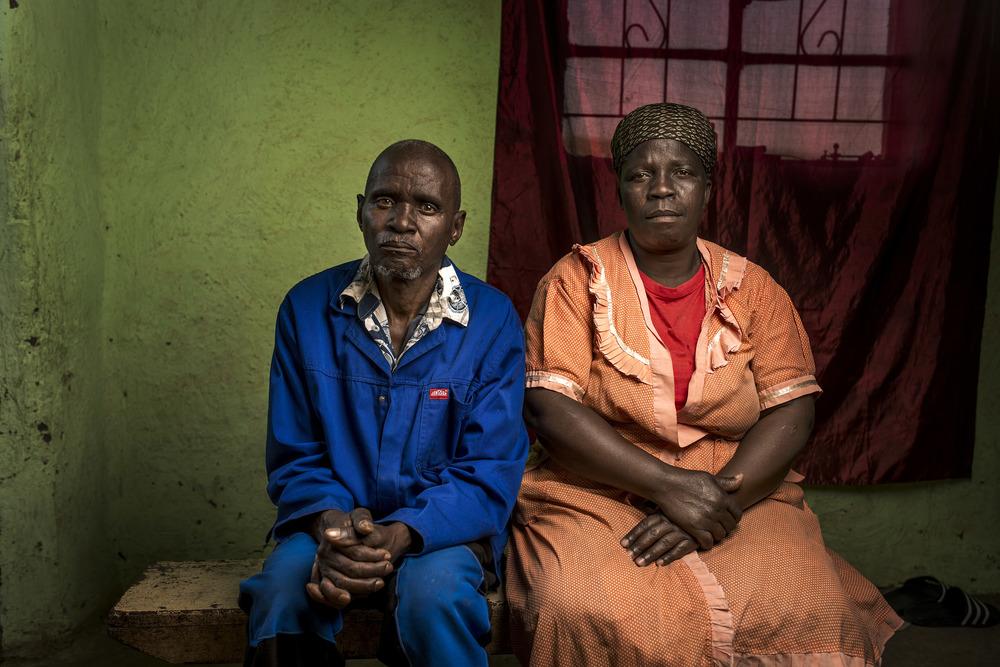 Zaneyezi &Nomfazwe Ntloni at home.