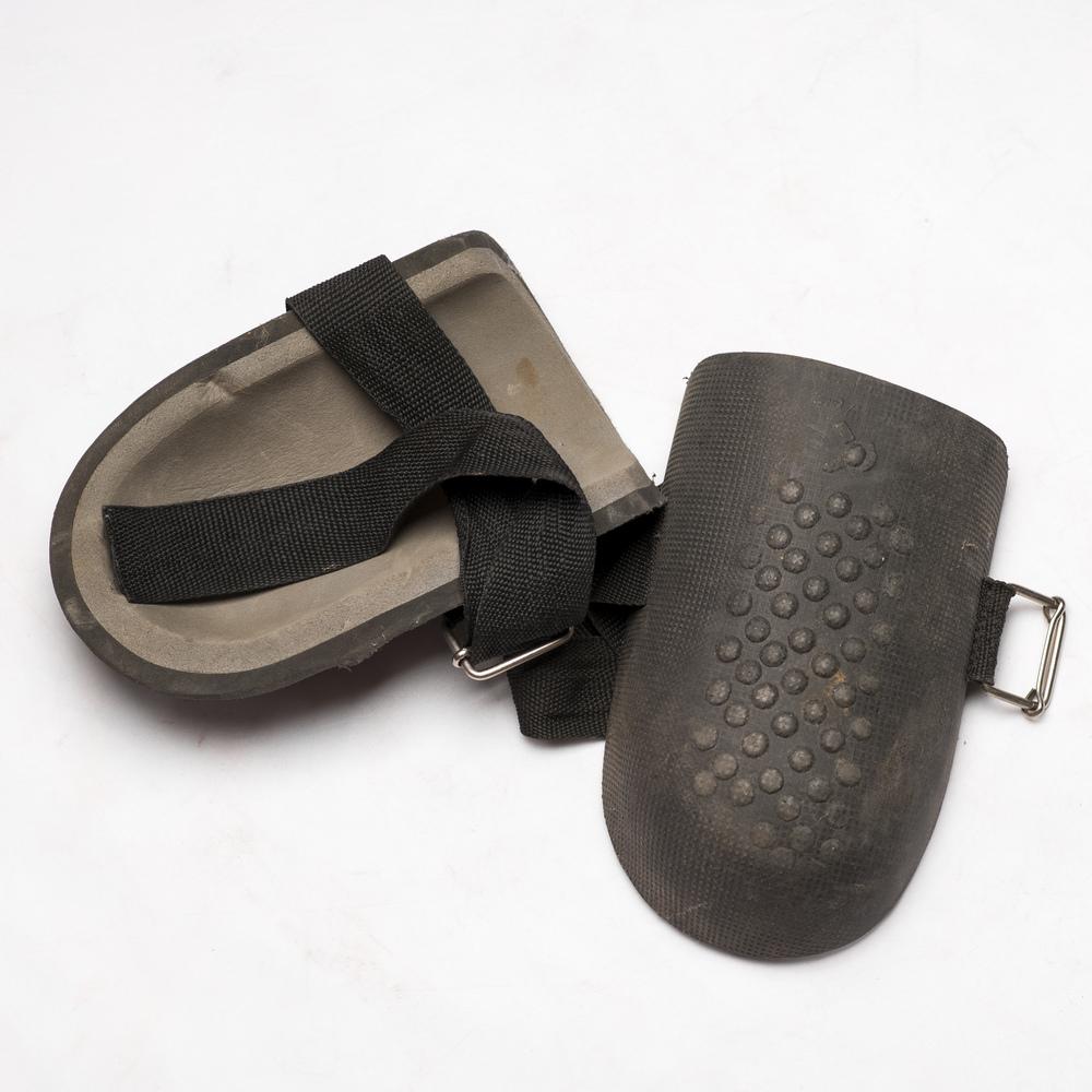 Miners Knee pads belonging to Mantso Mokoena