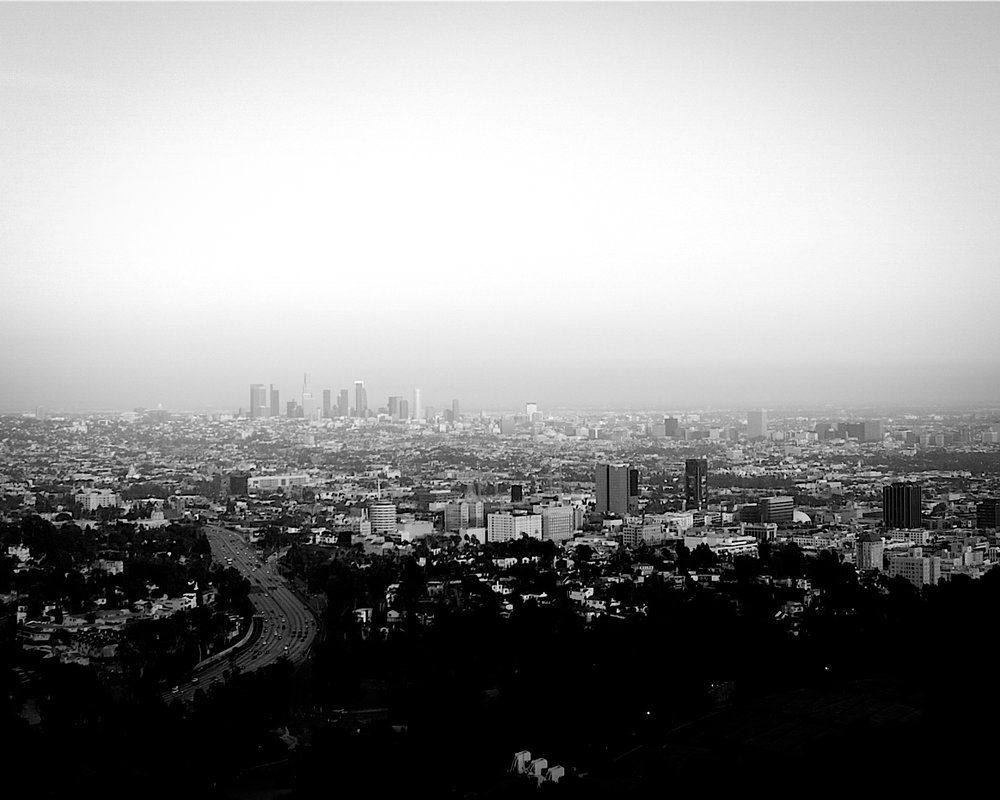 On Tour - Los Angeles from Mulholland Drive, 2008
