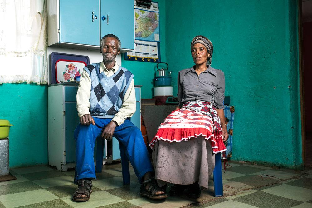 Kenneth & Nonuseko Nqose - 2015