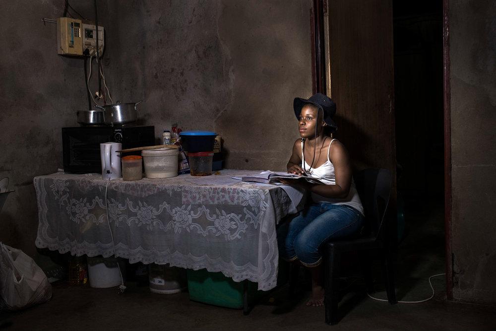 Risuna Larry Ngobeni (15) - Mashobye Village, Limpopo - from #Textbooksmatter a collaboration with section 27