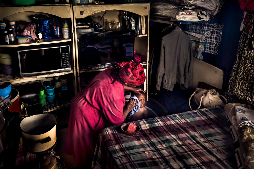 Life inside a 3x3 metre container - Langa township, Cape Town 2017 - from the series 'This is Home', a collaboration with the development action group.