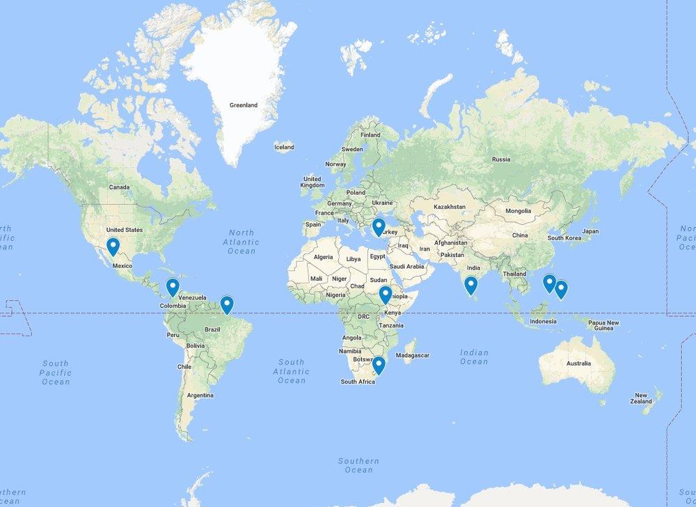 Map data ©2018 Google