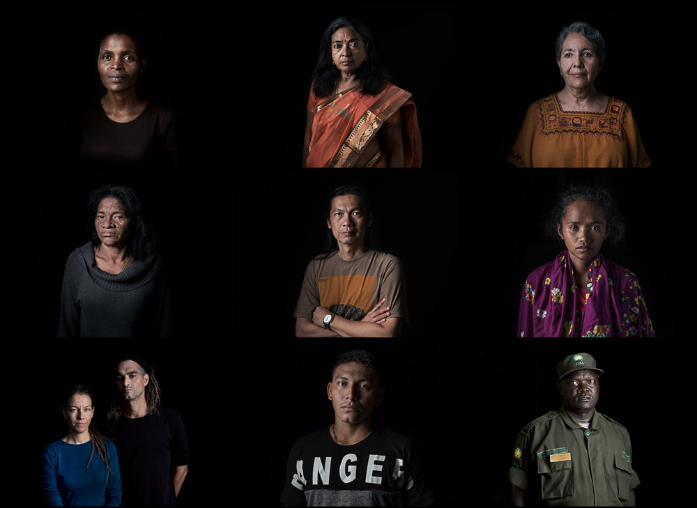 All of the defenders - © Thom Pierce/Guardian/UN Environment/global witness