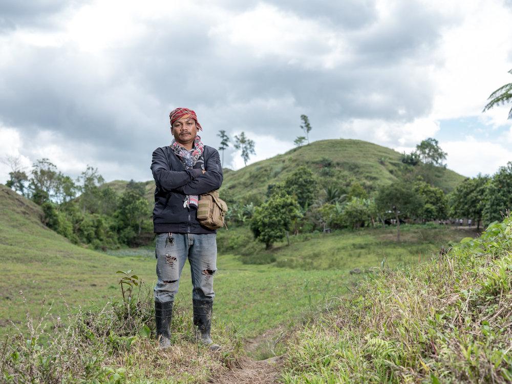 Datu Dande Dinyan © thom pierce / guardian / global witness / un environment