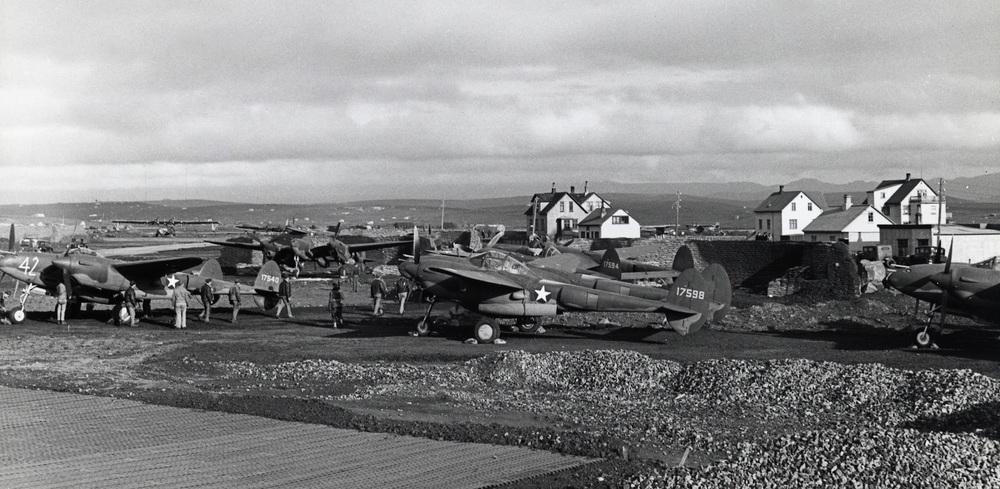 Reykjavik Airport 1942