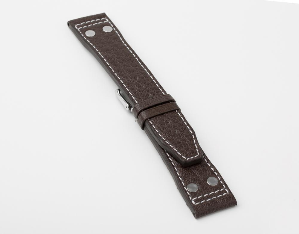 Handmade Buffalo Pilot strap