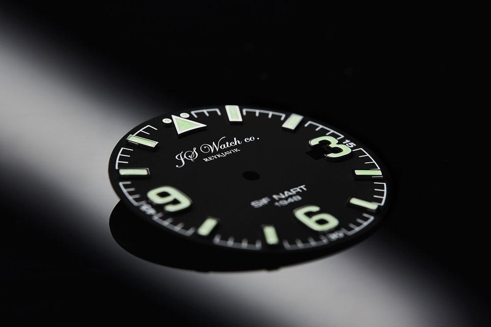 SIF NART 1948 Black dial