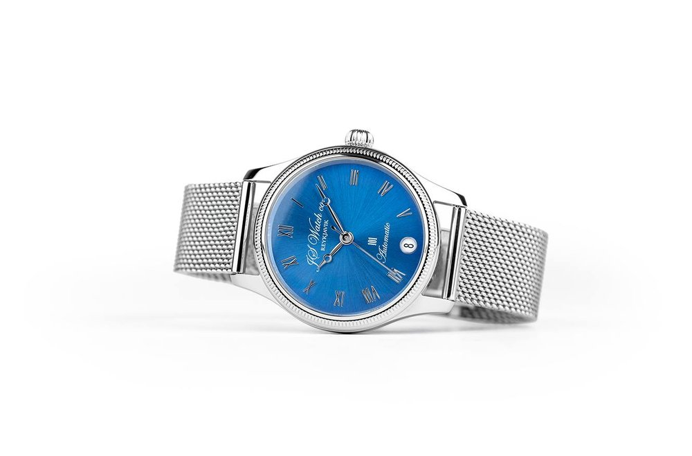 101 32mm Blue dial
