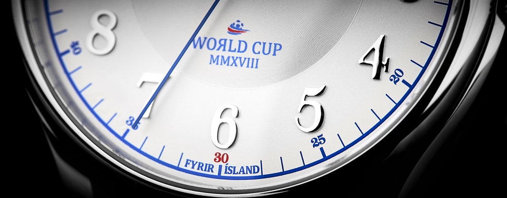 World Cup MMXVIII dial
