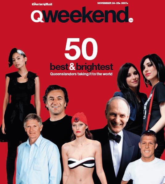 Courier Mail magazine cover 2007.JPG