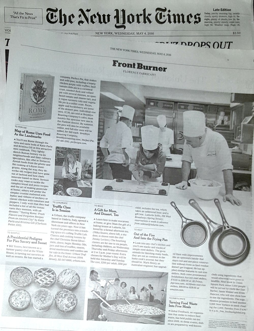 SOLIDteknics cookware in New York Times May 4 2016a.jpg