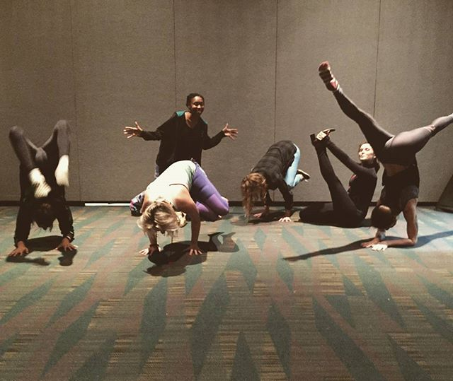Fantastic Rocket Yogi Warriors post-practice at the #YogaExpoLA downtown at the Los Angeles Convention Center. Thanks to the full room who showed up open-minded and ready to engage #bandhas #breath #focus #intention #sharetheloveofthepractice #beyourownteacher #listentoyourheart #bethechangeyouwanttosee