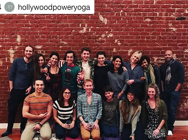 I will miss all the beautiful faces of @hollywoodpoweryoga, including these individuals from the Winter party. When we opened the studio, 3.5 years ago, it was our intention to create a yoga space that emphasized community and learning together. With the help of my partners, @tinyyogini and @henrymcmillan I feel we have so succeeded in this endeavor, and the dedicated instructors and students who have been the foundation and glue that holds HPY together are forever in my heart. Cheers to @thewildmess for her bravery and enthusiasm in upholding the supportive and expansive atmosphere that surrounds HPY. This week, check out the Rocket Immersion graduates in their Community Classes (schedule on Hollywood Power Yoga website.) My final classes at HPY will be Sunday 11am and Monday 9:15, please join me as we launch into a new year and a new beginning.  #yoga #home # community #shala #love #friends # strongertogether #newbeginnings #newyear #embracechange #changeistheonlyconstant #transitions # transform #evolve #ashtanga #poweryoga #rocketyogalosangeles #rocketyoga
