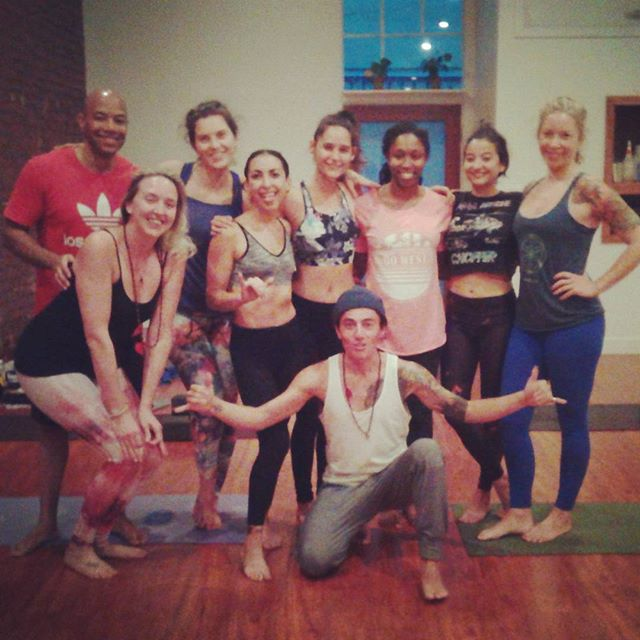 Rocket Immersion @hollywoodpoweryoga We love the rocket! Finishing our third day of five, with special guest @yancyscotschwartz Yesterday with @veredlenn studying #ayurveda and the #doshas. Today was #bhandas #naulikriya #drishti #jumpbacks #jumpthrough Inspired group of yogis from around the nation and globe. #namaste and Goodnight #rocketyoga #ashtanga #8limbs #shala #love #community #anahata