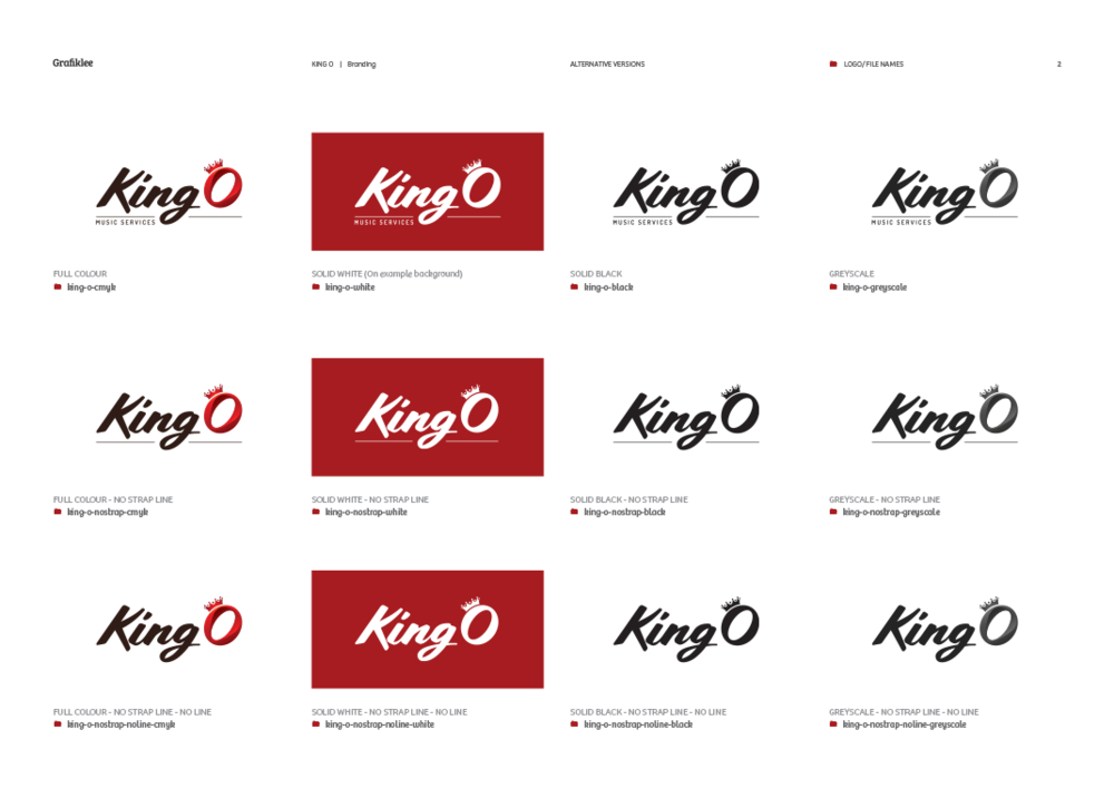 King O - Brand guidelines