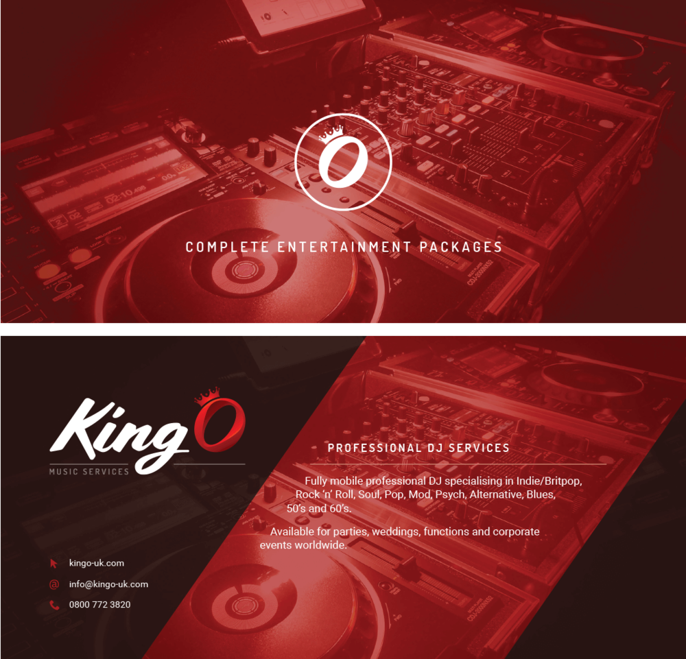 King O - Promotional flyer