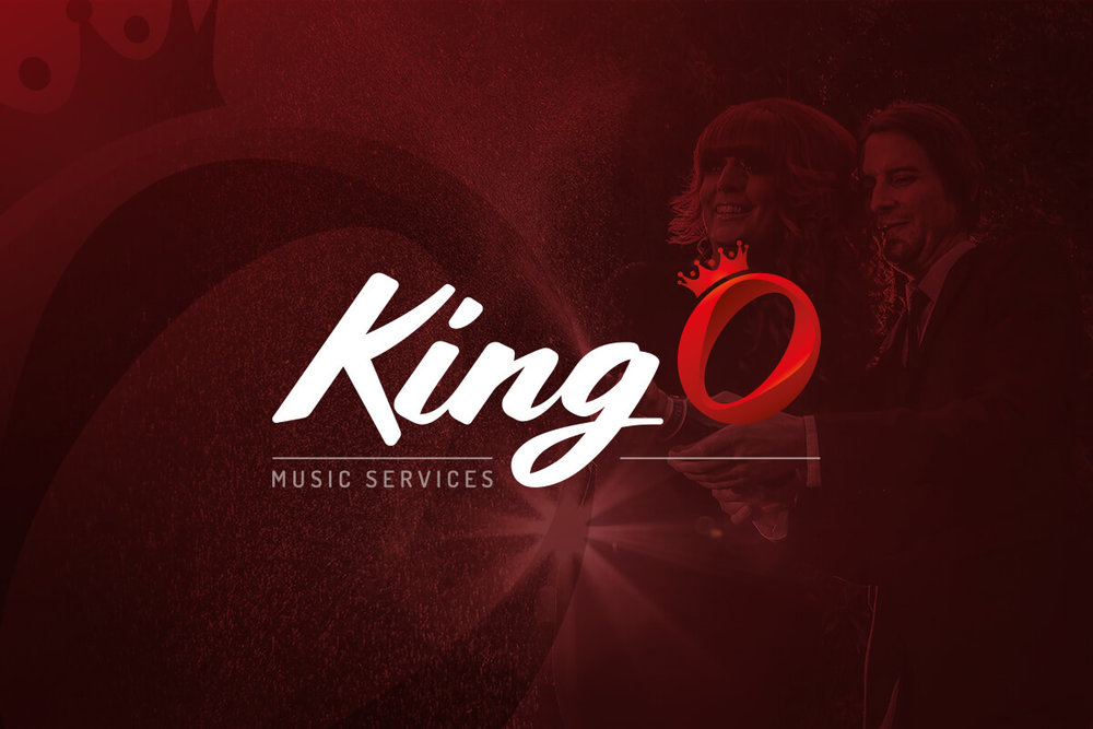 King O branding and promotional material