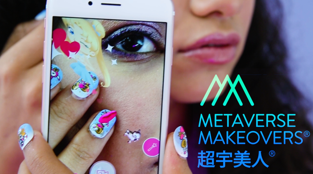Metaverse Nails - Augmented Reality fashion app developed for Metaverse Makeovers