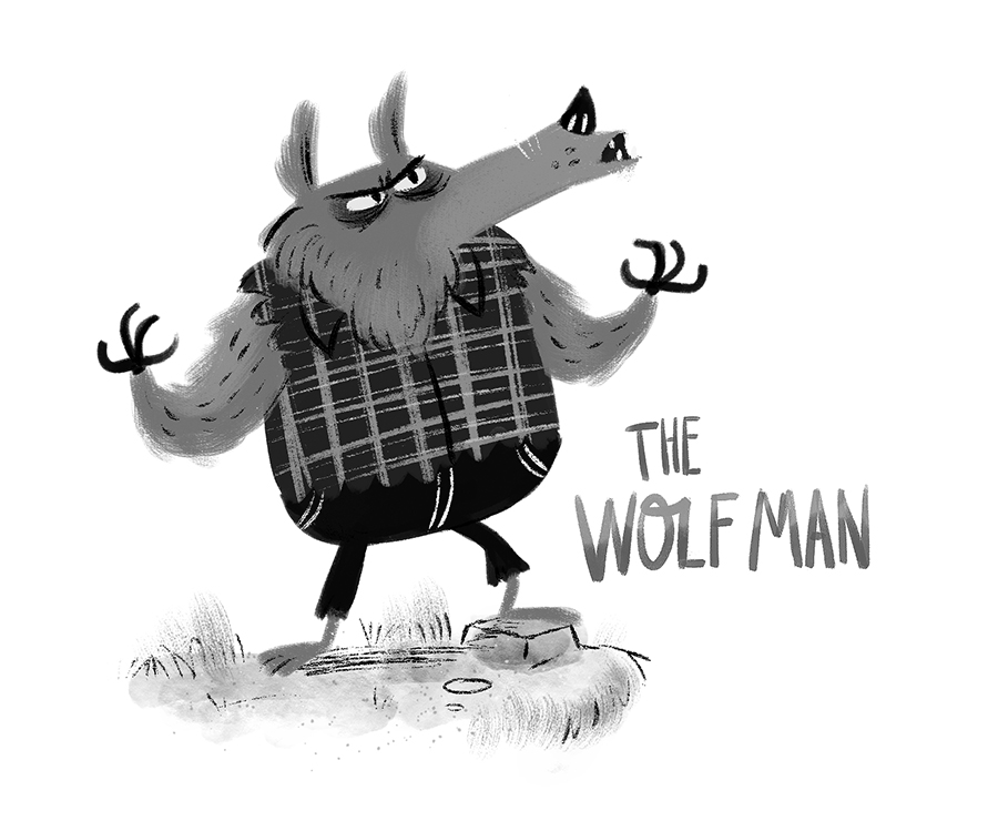Wolfman by Chris Chatterton