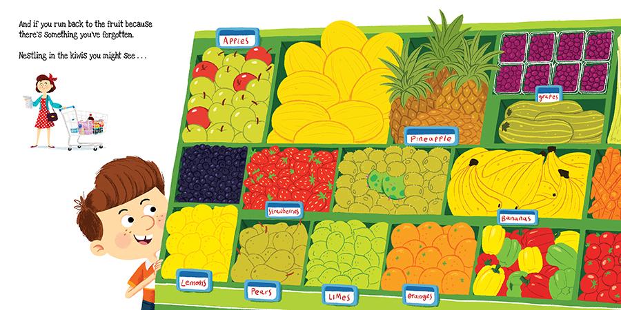 Supermarket Gremlins Finished full colour artwork