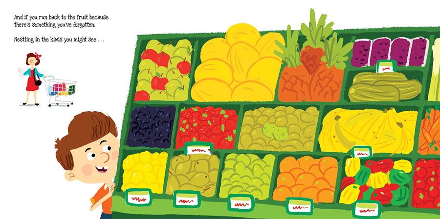 Supermarket Gremlins Colour Rough