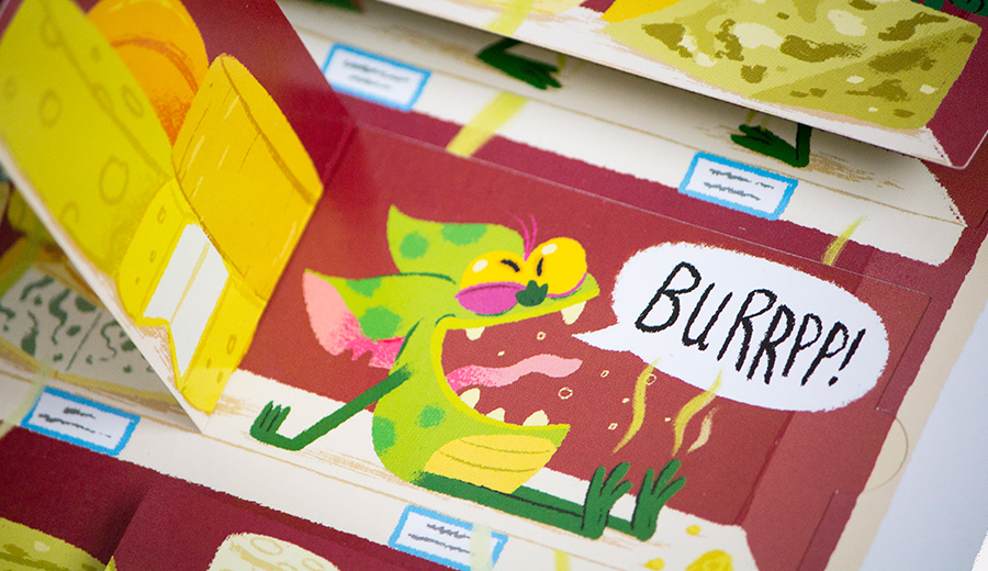 Supermarket Gremlins illustrated by Chris Chatterton