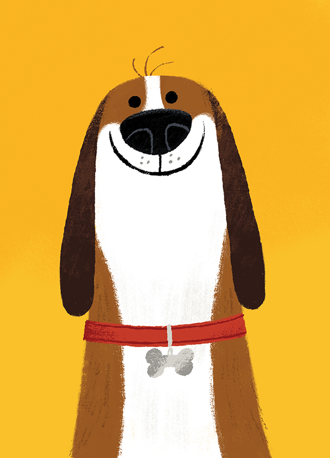 Dog illustration by Chris Chatterton