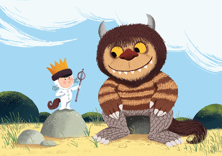 Where The Wild Things Are illustration by Chris Chatterton
