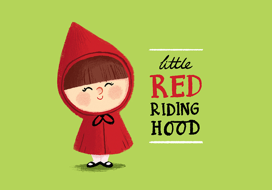Red Riding Hood illustration by Chris Chatterton