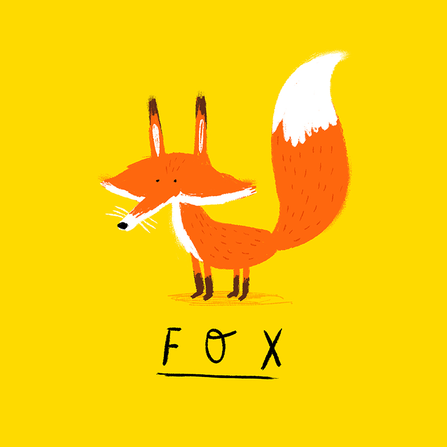 Fox illustration by Chris Chatterton