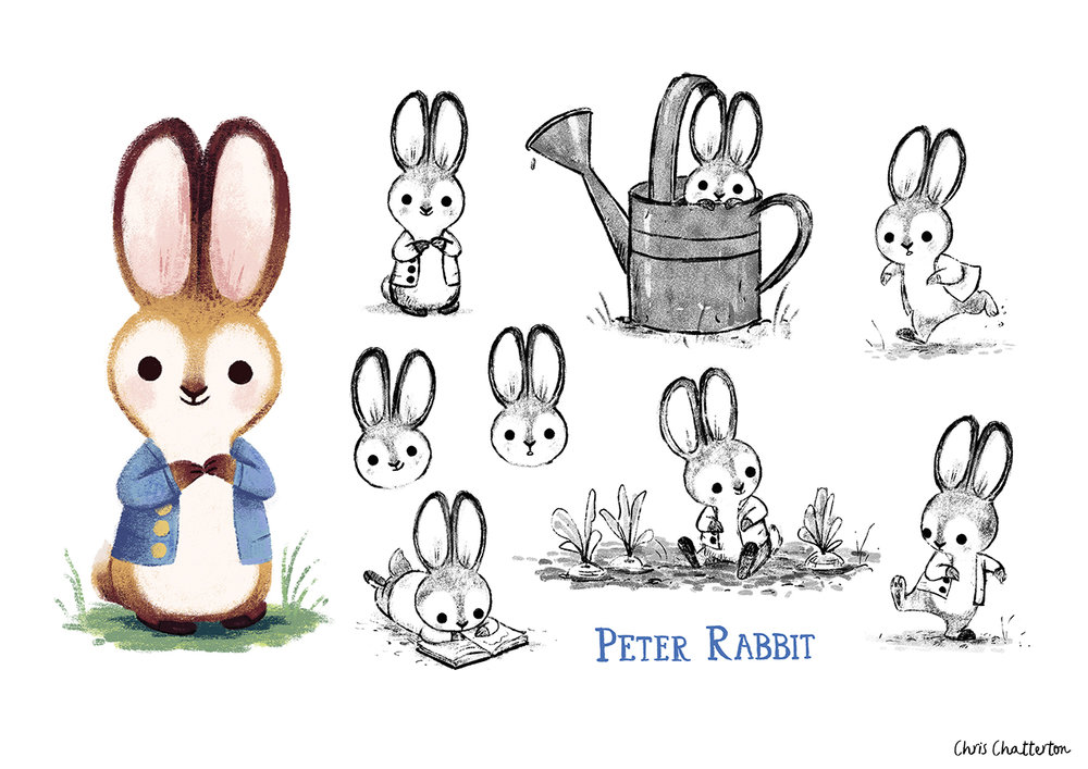 Peter Rabbit by Chris Chatterton