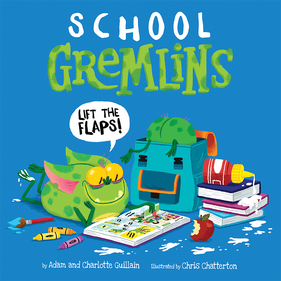 School Gremlins cover illustrated by Chris Chatterton