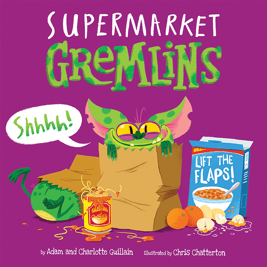 Supermarket Gremlins cover illustrated by Chris Chatterton