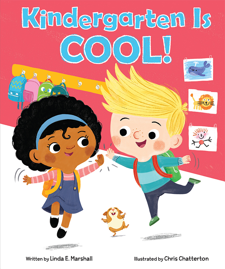 Kindergarten is Cool! cover illustrated by Chris Chatterton