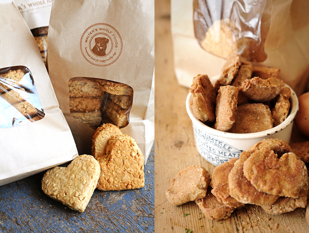 The Artful Union worked with Walter's Whole Foods, an all-natural boutique gourmet dog food company to create a brand that represented the rustic home-made feel of the products.