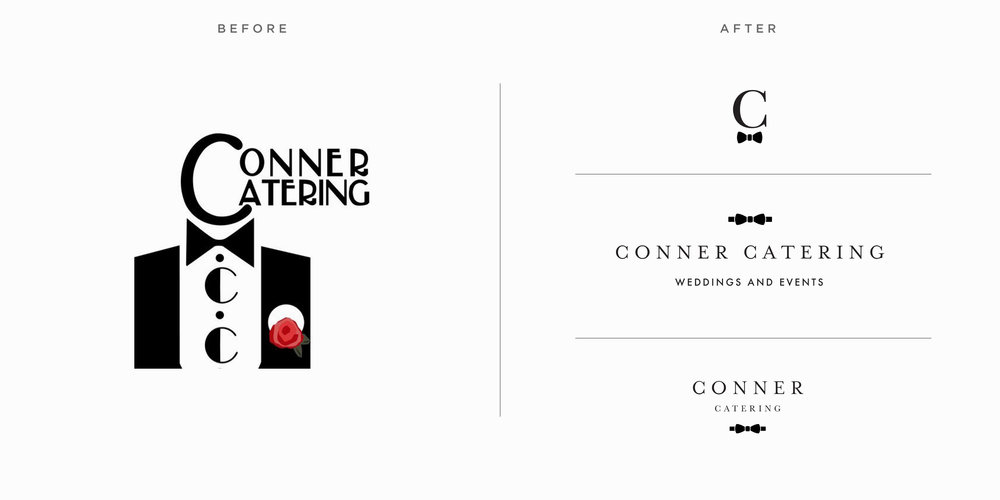 Conner Logo Before After