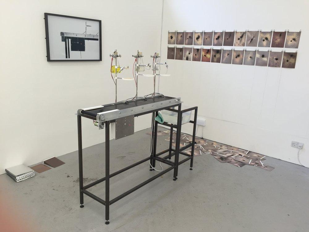 Autonomous Chemigram Machine