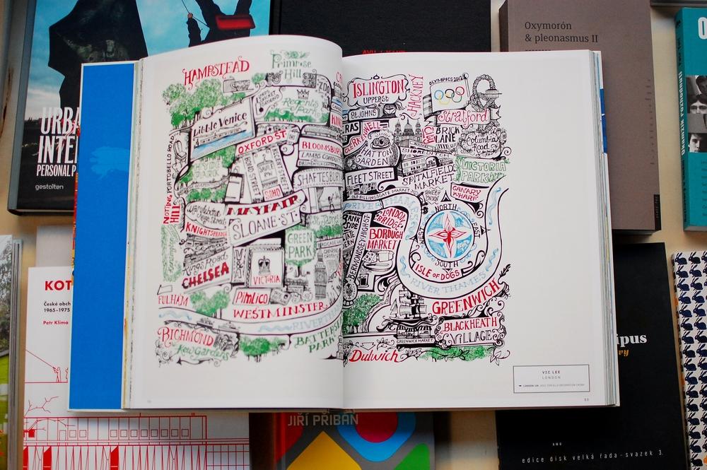 Ďalšia vizualita, po ktorej pasiem -  A Map of the World  v podaní ilustrátorov a iných kresličo-rozprávačov.