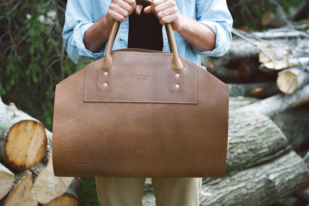 Peartree Leather Co. Log Holder