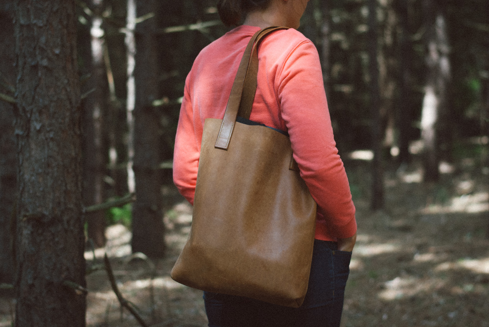 Peartree Leather Co. Handmade Tote